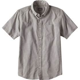 Patagonia M's Bluffside Lightweight SS Shirt Chambray: Feather Grey